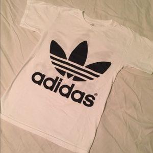 Adidas Originals Trefoil Short Sleeve Shirt White